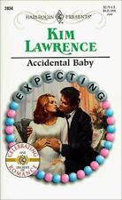 Accidental Baby (Harlequin Presents #2034), Kim Lawrence, 0373120346, Book, Good