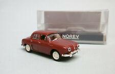 Norev - RENAULT DAUPHINE 1956 rouge Garance Neuf NBO HO 1/87