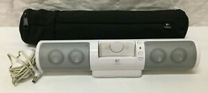Super Nice LOGITECH MODEL #S-0218A MM32 PORTABLE SPEAKER SYSTEM
