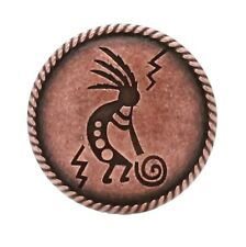 "Kokopelli Concho Antique Copper 1-1/4"" 7952-10"
