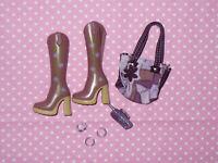 Mattel MY SCENE BARBIE DOLL Rare FASHION ACCESSORY LOT Shoes Purse Jewelry #4