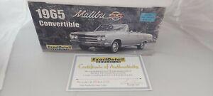 Chevrolet Chevelle Malibu SS 1965 convertible Exact Detail 1:18
