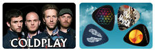 Coldplay Album Covers PikCard Custom Collectible Guitar Picks (4 picks per card)