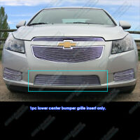 Fits 2011-2014 Chevy Cruze Regular Lower Bumper Billet Grille Grill Insert