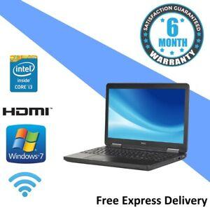 Dell Latitude E5540 - Windows 7 Laptop - Core i3-4010U | 4GB | 500GB | Webcam