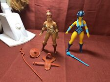 vintage he-man action figures lot Teela & Evil-lyn See Pictures