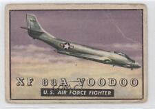 1952 Topps Wings - Friend or Foe R707-4 #124 XF 88A Voodoo Non-Sports Card 3h2