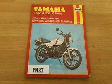 YAMAHA RD250 350 LC HAYNES MANUAL