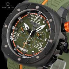 TechnoSport Unisex 47mm Swiss Quartz Multifunction Silicone Strap Watch TS-780-1
