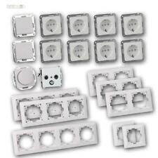 Milos Set Paisaje Residencial Regulador Enchufe Interruptor, Unterputz-Rahmen,