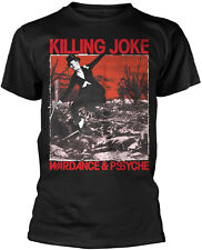 KILLING JOKE Wardance & Pssyche T-SHIRT OFFICIAL MERCHANDISE