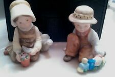Holly Hobbie Mini Figurines Brother & Sister