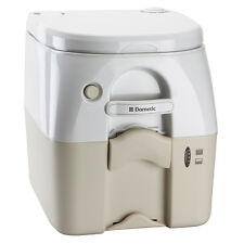 Dometic - SeaLand 975MSD Portable Toilet 5.0 Gallon - Tan w/ Brackets 301197502