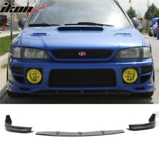 Fit For 97-01 Subaru Impreza WRX GD Style Front Bumper Lip Urethane 3 Piece
