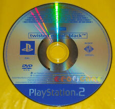 TWISTED METAL BLACK Ps2 Versione Promo Europea gioco completo »»»»» SOLO DISCO