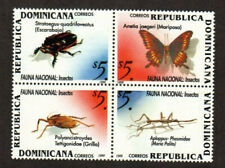 Dominican Republic Stamp - Insects, butterfly Stamp - NH