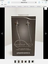 Plantronics BackBeat GO 3 Wireless Bluetooth Headphone Headset Copper Orange