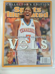 Sports Illustrated No Label Tennessee Volunteers National Champions Pat Summit