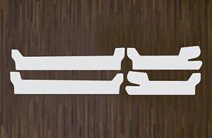 Lackschutzfolie transparent Einstiege Einstiegsleisten Türen  Skoda Karoq