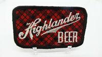 Highlander Beer Vintage Jacket Patch Missoula Brewing
