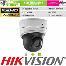 HIKVISION MINI PTZ 2MP 1080P 20M IR POE WIFI MIC 2x ZOOM IP SECURITY CAMERA CCTV