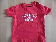 HILFIGER schönes Shirt rot Gr. 80 TOP (HC 414)