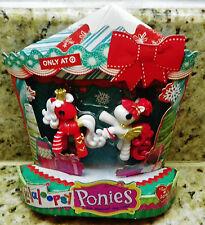 Christmas LALALOOPSY PONIES #10 & #11 Target Exclusive