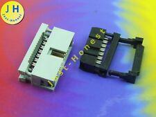 KIT IDC 14 ( 2 x7 ) polig/way Buchse-Stecker Verlängerung Flachbandkabel #A1289