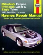 1990-1994 Haynes Mitsubishi Eclipse, Plymouth Laser & Eagle Talon Repair Manual
