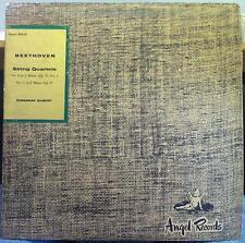 Hungarian Quartet - Beethoven String No 8 & 11 LP VG+ ANG 35110 UK Mono 1st