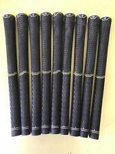 Set of 9 TaylorMade Tour Velvet Golf Grips. Universal Black
