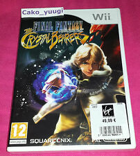 FINAL FANTASY CRYSTAL CHRONICLES THE CRYSTAL BEARERS NINTENDO WII NEUF FRANCAIS