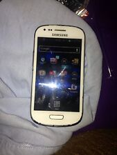 Samsung Galaxy S III Mini VE GT-I8200 - 8GB - Marble White (Unlocked) Smartphone