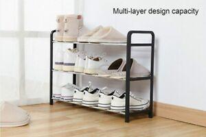 Shoe Rack Storage Organizer Shelf Stand Shelves 3/4/5 Tiers Layers