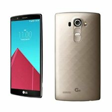 "Oro 5.5"" LG G4  H815 32GB 4G LTE 16MP 3GB Ram Radio GPS Libre Telefono Movil"