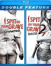 I SPIT ON YOUR GRAVE (2010)/I SPIT ON YOUR GRAVE 2 NEW BLU-RAY