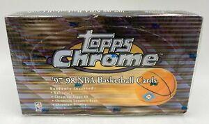 1997-98 Topps Chrome Basketball Sealed Unopened Hobby Box McGrady Duncan RC Yr