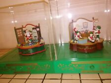 Collectible Music Boxes Animated Action Christmas Figures