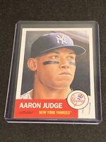 2018 Topps Living Set Aaron Judge Card #1 Week 1 SP Short Print New York Yankees