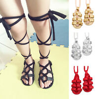 Lovely Baby Girls Toddler Gladiator Strappy Sandals Leather Shoes Size 0-18M New