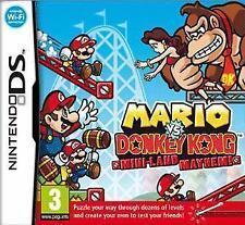 MARIO VS DONKEY KONG MINI LAND MAYHEM Nintendo DS 2DS NDS DSI 3DS Video Game New