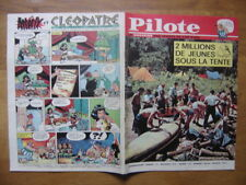 1964 PILOTE 237 pilotorama ROI DES ROIS ETHIOPIE HAILE SELASSIE jeunes et tente