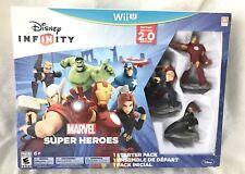 Disney Infinity Marvel Super Heroes 2.0 Starter Pack Wii U Toy Box Play Set WiiU