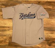 Staten Island Yankees OT Sports Sewn MILB Minor League Baseball Jersey XL USA