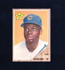 1962 Topps #387 Lou Brock