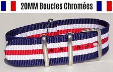 NATO ★ 20MM ★ N°50 ★ Bracelet montre Watch Band Strap Nylon Military Army 007