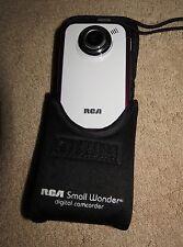 RCA Small Wonder EZ205 Digital Camcorder - White / Burgundy