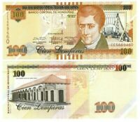 HONDURAS 100 Lempiras (2014) P-102b UNC Banknote Paper Money