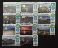 GRIECHENLAND LOT 11 RARE DIFFERENT M-PHONECARDS FROM 2013-2014 GREECE GRECIA !!!