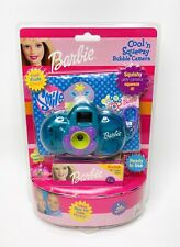 Barbie 2001 Cool N' Squeezy Outdoor Bubble Camera Set Pink NOS w/ Kodak Film NEW